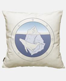 weißer wal eisberg