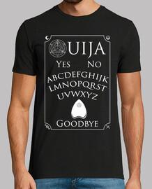 weißes ouija t-shirt mann