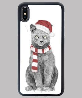 Weihnachten Katze
