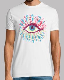 Weird Blue Psychedelic Eye