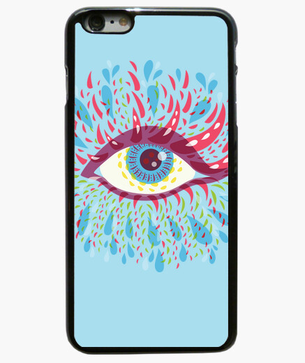 Weird Blue Psychedelic Eye iphone 6 / 6s...