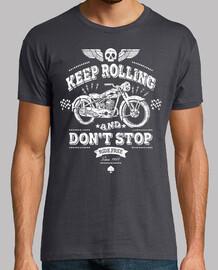 weiterfahren und nicht aufhören