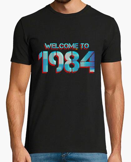 Camiseta WELCOME TO 1984 (destroy)