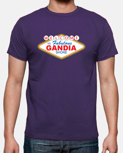 Camisetas Welcome to Gandia Shore - Chico