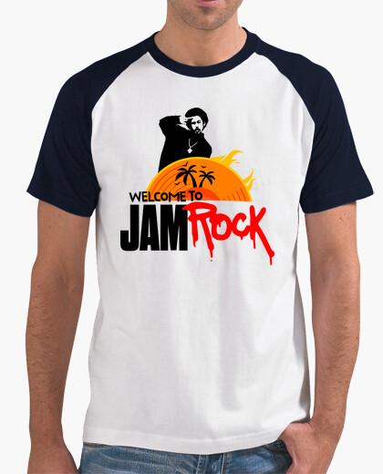 Camiseta Welcome to Jamrock (Damian Marley -Jr. Gong-)