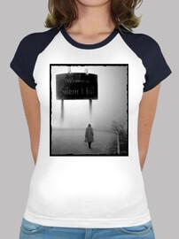 Welcome to Silent Hill - Camiseta estilo béisbol para chica