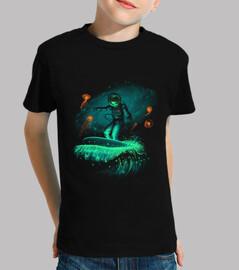 Weltraum-Surfer