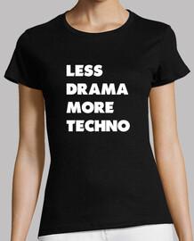 weniger dra mama mehr techno