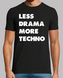 weniger drama mehr weiß techno