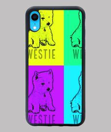 westie Funda iPhone XR - westie