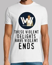 Westworld Dolores (Blanc Homme)