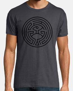 westworld maze (black)