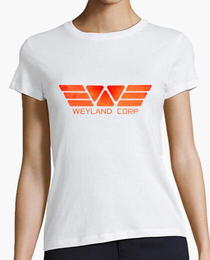 Camiseta Weyland Prometheus (orange)