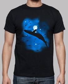 whale in space