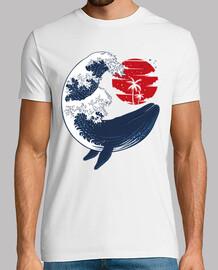 whale tsunami