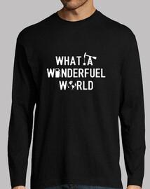 WHAT A WONDERFUEL WORLD (écologie)