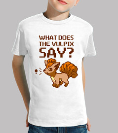 what does the vulpix say? child