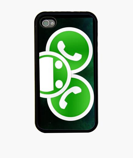 Funda iPhone Whatsapp Mouse