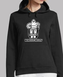 wheelchelin hoodie woman