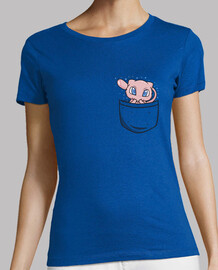 where is mew? - woman t-shirt