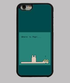 Where is Popi? - Funda iPhone 6, negra