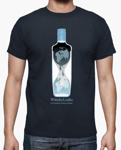 Camiseta Whiskyleaks (chico)