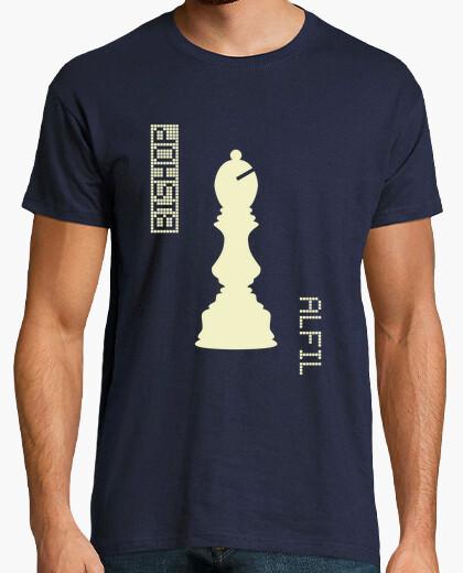 Camiseta White Bishop / Alfil Blancas - HUMAN CHESS