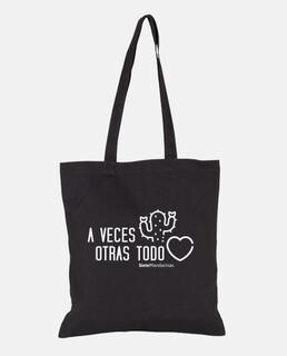 white heart cactus bag