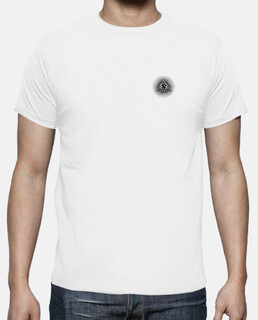 white illuminati t shirt