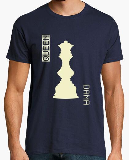 Camiseta White Queen / Dama Blancas - HUMAN CHESS