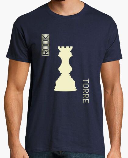 Camiseta White Rook / Torre Blancas - HUMAN CHESS