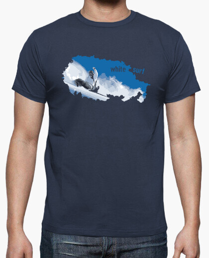 Camiseta White surf