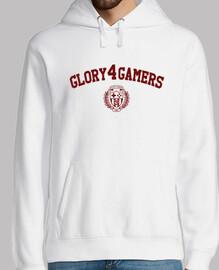white sweatshirt g4g academy