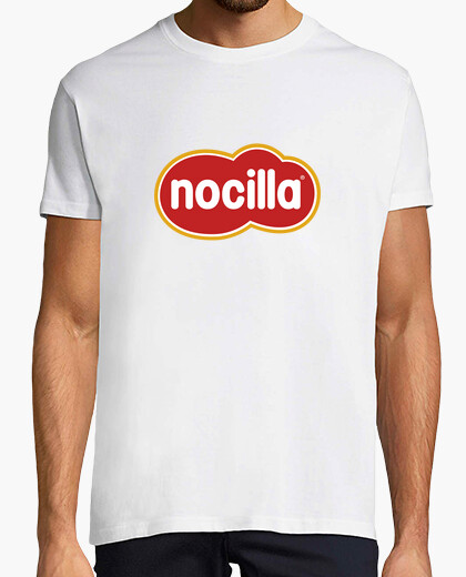 White t-shirt logo