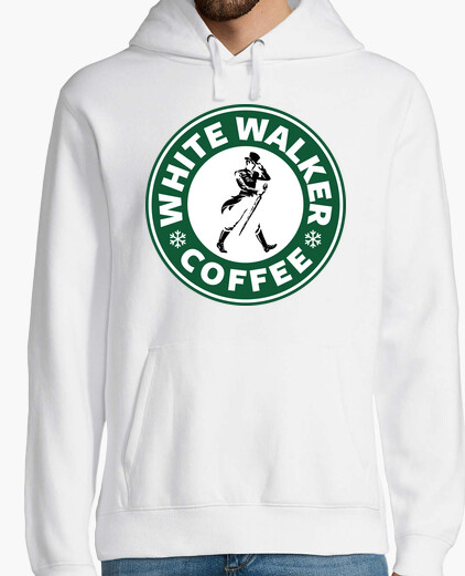 White Walker Coffee (sudadera hombre)