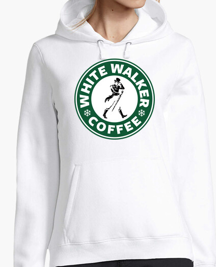 White Walker Coffee (sudadera mujer)
