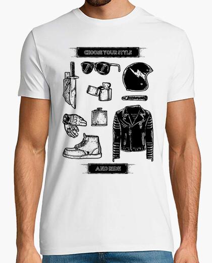 T-Shirt wähle deinen stil und fahre
