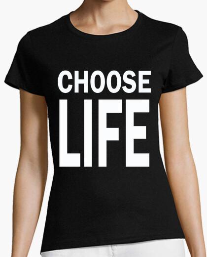 T-Shirt wählen sie das leben