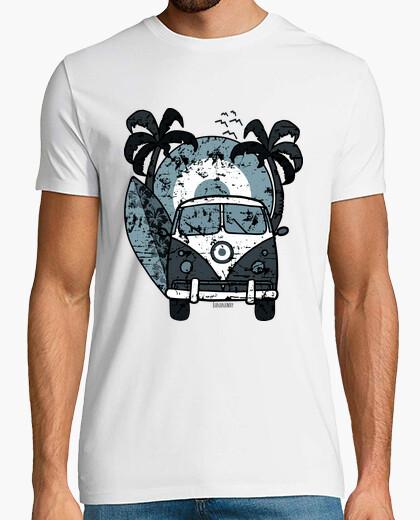 Why blue surf t-shirt