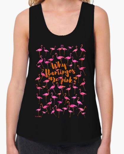 Camiseta Why Flamingos are pink?