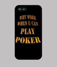 why work play poker