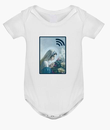 Ropa infantil wi-fi virgen // baby body / blanco