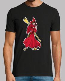 wicca strega rosso