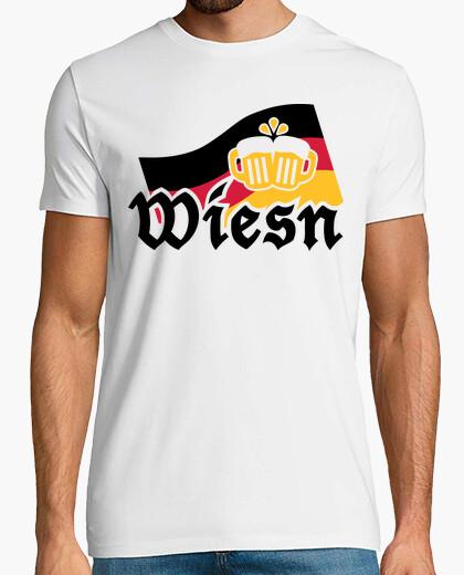 Camiseta wiesn cerveza oktoberfest de