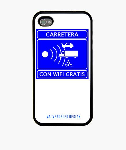 Funda iPhone WIFI GRATIS radar Iphone 4/4s. Premium