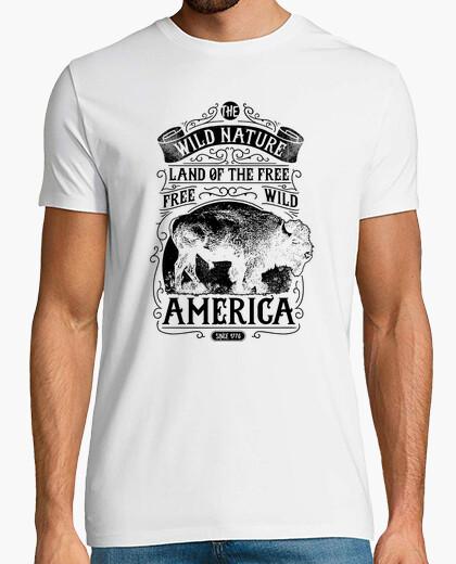 Camiseta Wild Nature America 1