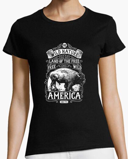 Camiseta Wild Nature America 2