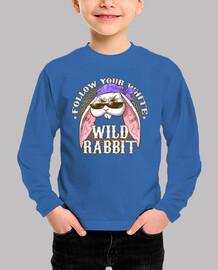 wild rabbit baby short sleeve