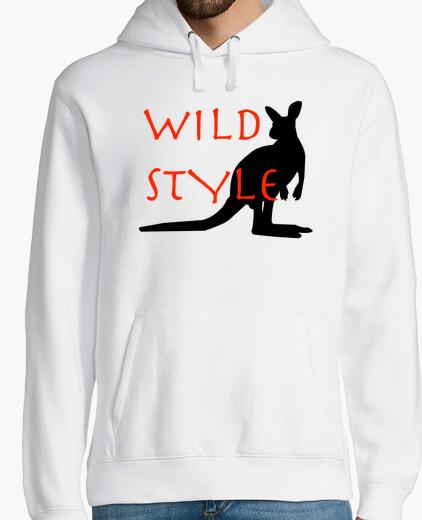 Sweat Wild style le kangourou