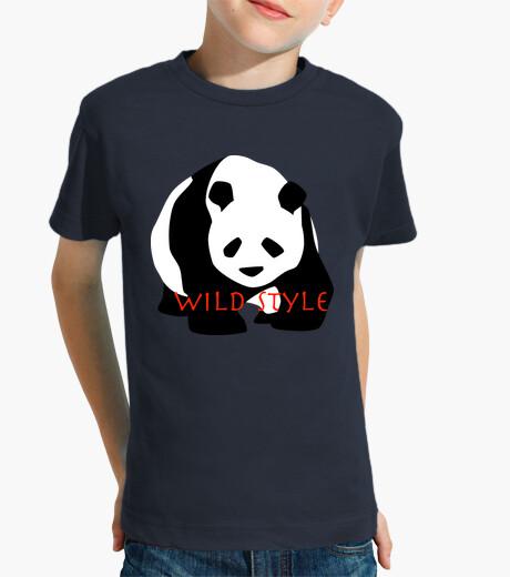 Vêtements enfant Wild style le panda